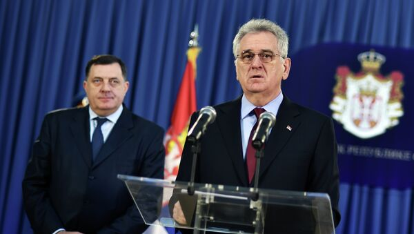 Milorad Dodik i Tomislav Nikolić - Sputnik Srbija