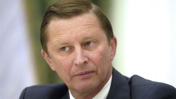 Sergej IVANOV - Sputnik Srbija