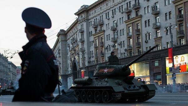 Проба параде Победе у Москви - Sputnik Србија
