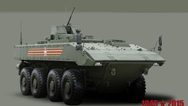 Oklopni transporter  Bumerang - Sputnik Srbija