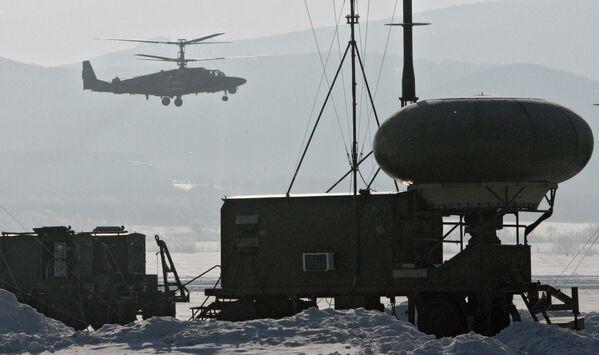 Ka-52 učestvuje u vojnim vežbama u Primorju - Sputnik Srbija