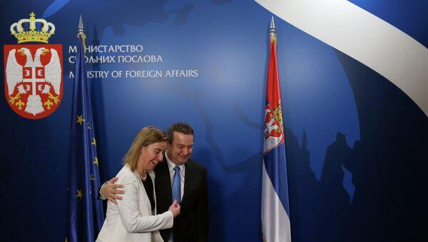 Federika Mogerini i Ivica Dačić - Sputnik Srbija