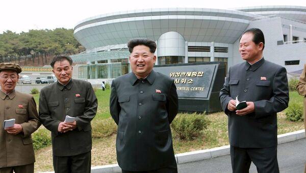 Севернокорејски лидер Ким Џонг Ун - Sputnik Србија