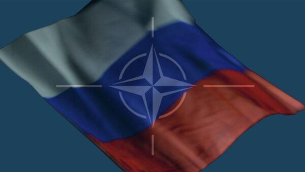 Zastava Rusije i NATO - Sputnik Srbija