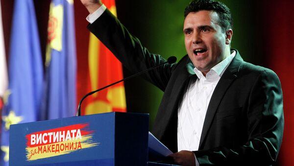 Зоран Заев - Sputnik Србија