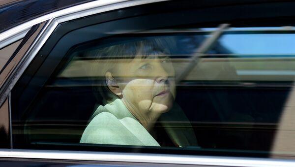 Angela Merkel u kolima - Sputnik Srbija