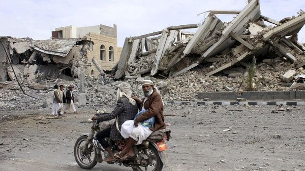 Bombardovanje Jemena - Sputnik Srbija