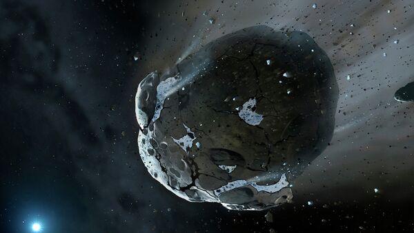 Asteroid, ilustracija - Sputnik Srbija