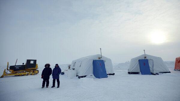 Руски истраживачки камп на Арктику - Sputnik Србија
