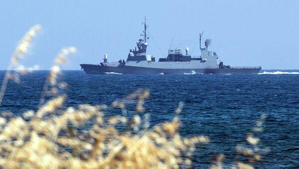 Najveći brod izraelske flote Sa'ar 5 - Sputnik Srbija