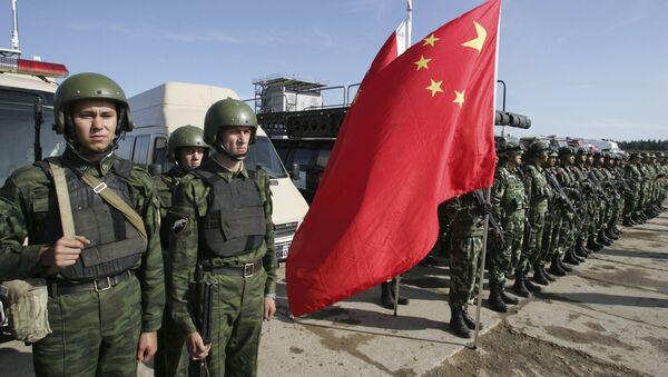 Ruski i kineski vojnici - Sputnik Srbija