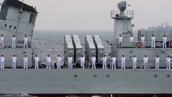 Руско-кинески савез, поморске вежбе - Sputnik Србија