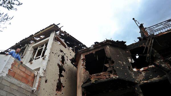 Последице тероризма у Куманову - Sputnik Србија