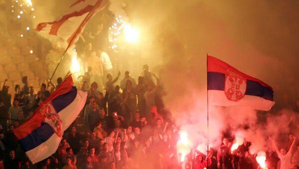 Навијачи на стадиону - Sputnik Србија