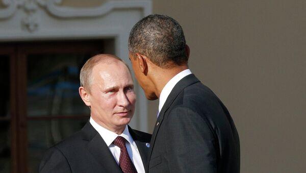 Владимир Путин и Барак Обама - Sputnik Србија