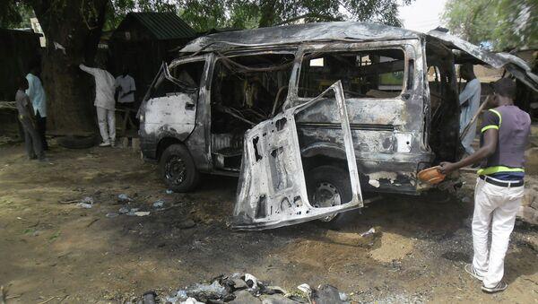 Нигерија, напад бомбом - Sputnik Србија