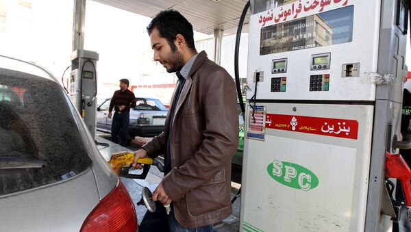 Бензинска пумпа у Техерену-Иран - Sputnik Србија