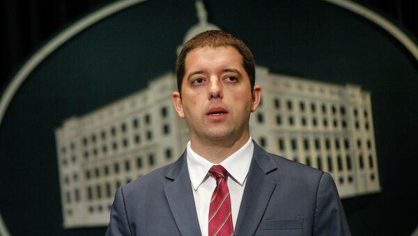 Direktor Kancelrije Kosovo i Metohija Marko Đurić - Sputnik Srbija