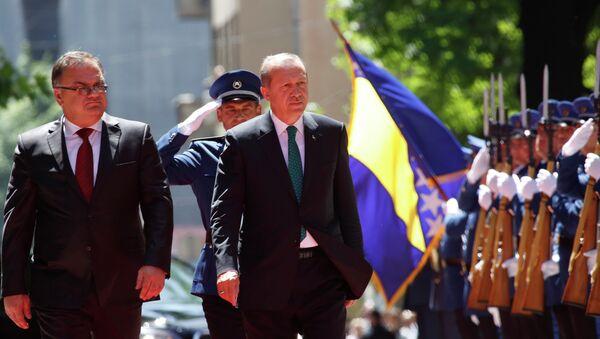Predsednik Turske Redžep Tajip Erdogan u Sarajevu - Sputnik Srbija