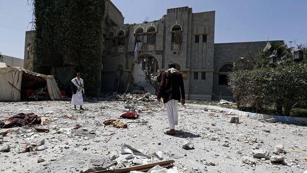 Ратно ваздухопловство Саудијске Арабије наноси ударе по територији Јемена - Sputnik Србија