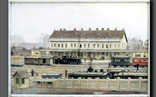 Železnička stanica Sarajevo,autor  Đuro Hondraj - Sputnik Srbija
