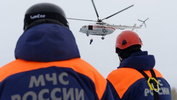 Pripadnici Ministarstva za vanredne situacije RF - Sputnik Srbija