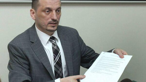 Direktor KC Niš dr Zoran Radovanović - Sputnik Srbija