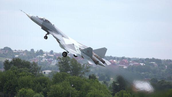 Пробни лет авиона пете генерације Т - 50 - Sputnik Србија