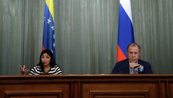 Sergej Lavrov i Delsi Rodriges - Sputnik Srbija