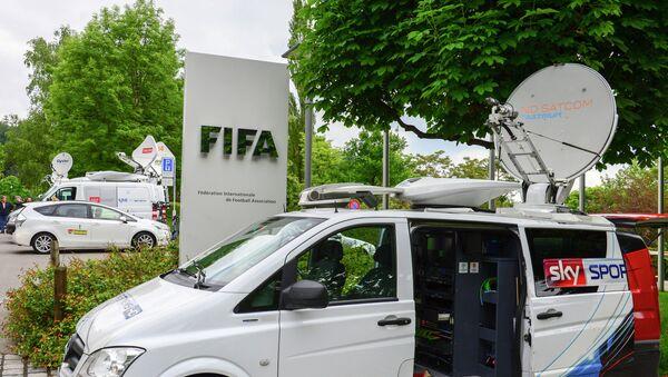 Činovnici FIFA-e uhapšeni u Cirihu - Sputnik Srbija