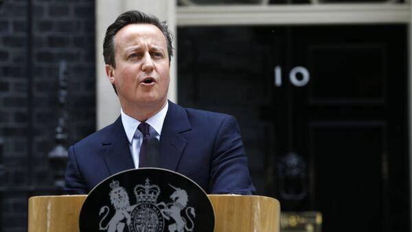 Британски премијер Дејвид Камерон у Лондону - Sputnik Србија