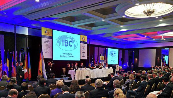 Министар Антић на 18. годишњем заседању Европског бизнис конгреса у хотелу Хајат - Sputnik Србија