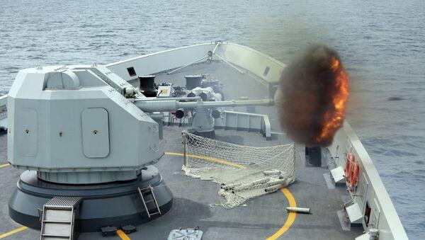 Vojne pomorske vežbe Singapura i Kine - Sputnik Srbija