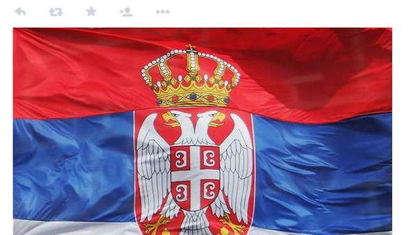 Tviteraška akcija ujedinjenja srba pod svojom zastavom - Sputnik Srbija