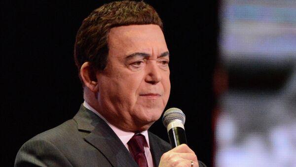 Певач и народни посланик Јосиф Кобзон је на црној листи ЕУ - Sputnik Србија