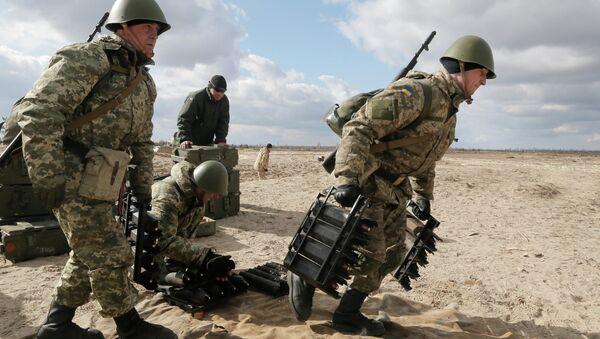 Ukrajinski vojnici - Sputnik Srbija