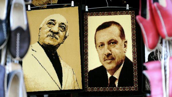 Redžep Tajip Erdogan i Fetulah Gulen - Sputnik Srbija