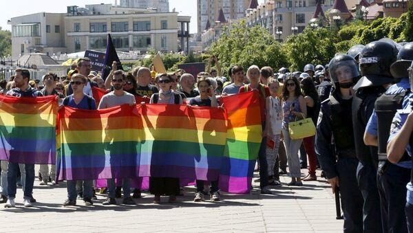 ЛГБТ марш у Кијеву - Sputnik Србија