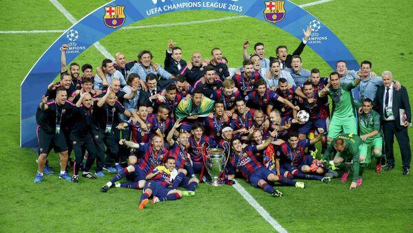 Барселона, победник УЕФА Лиге шампиона - Sputnik Србија