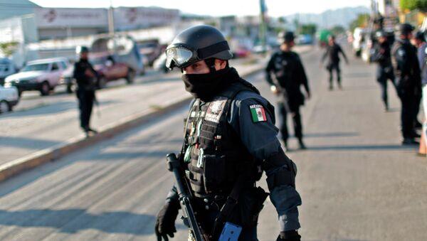 Полицајац у Акапулку, Мексико - Sputnik Србија