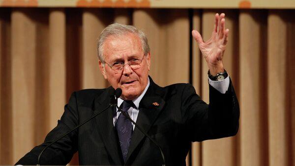 Bivši sekretar za odbranu SAD Donald Ramsfeld  - Sputnik Srbija