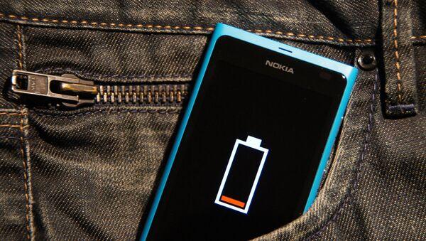 Батерија на мобилном телефону - Sputnik Србија