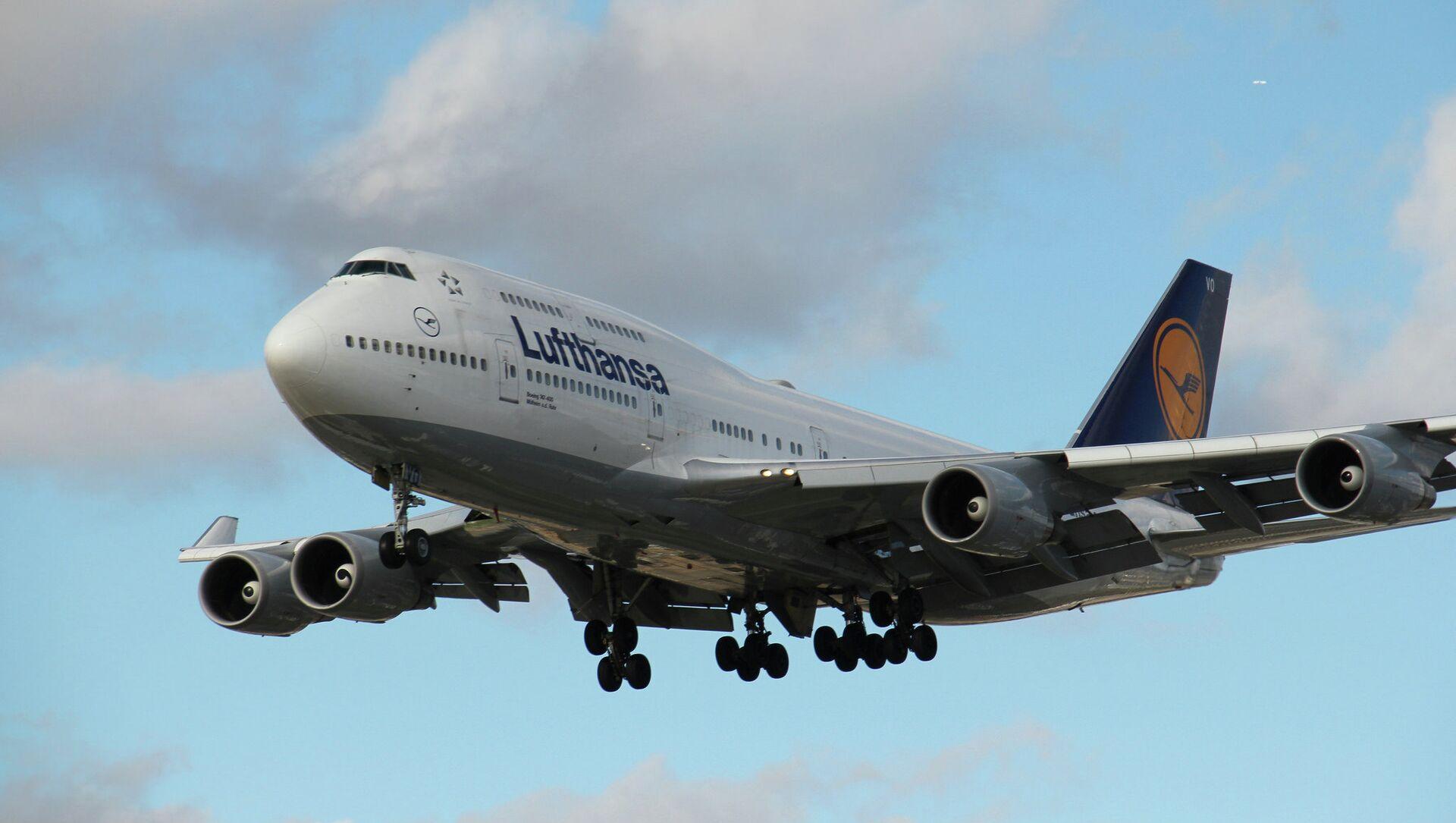 Боинг 747-400 авио-компаније Луфтханза   - Sputnik Србија, 1920, 24.05.2021