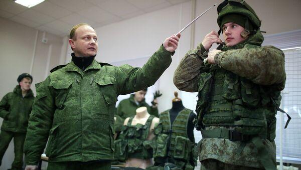 Kopnene trupe ruskih oružanih snaga  testiraju vojnu opremu - Sputnik Srbija