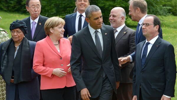 Лидери на Самиту Г7 у Немачкој 2015 - Sputnik Србија