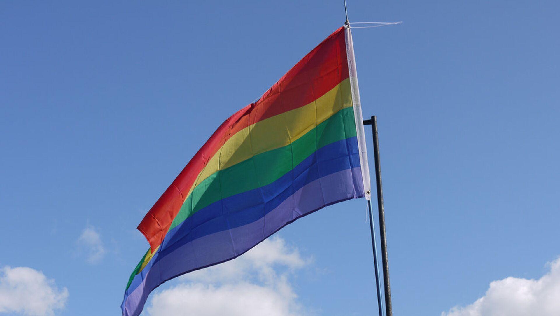 ЛГБТ застава - Sputnik Србија, 1920, 07.05.2021