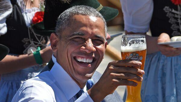 Barak Obama, predsednik Sjedinjenih Američkih Država - Sputnik Srbija