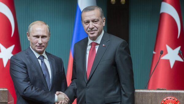 Poseta Vladimira Putina Turskoj. - Sputnik Srbija