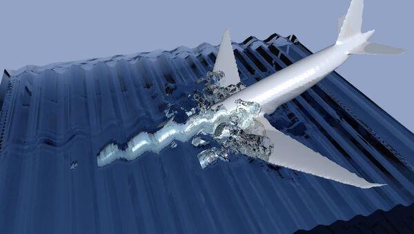 Malezijski avion na letu MH370 koji je pao u more - Sputnik Srbija