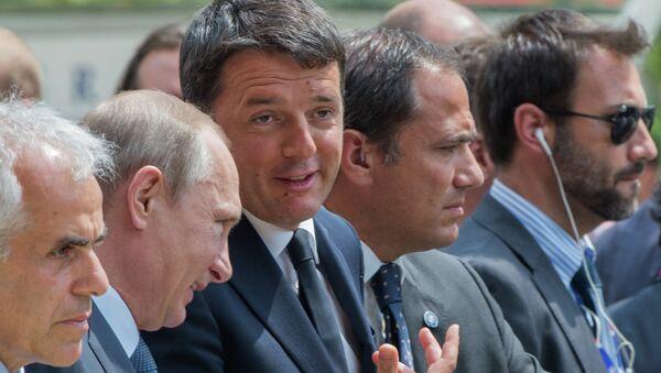 Poseta Vladimira Putina Italiji. - Sputnik Srbija